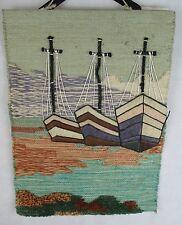 Rústico Hecho a Mano Alfombra Tapiz Imagen 3? Kit de diseño de barcos-Colgante De Pared