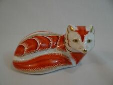 Royal Crown Derby Paperweight The Red Fox Retired