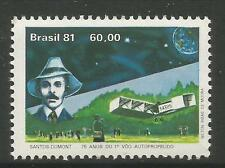 BRAZIL. 1981 Santos Dumont 1st Flight Commemorative. SG: 1923. Mint Never Hinged