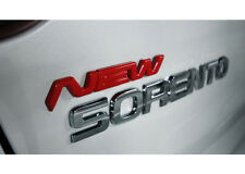 3D New Logo Emblem 1pc Rose red type For 13 Kia New Sorento 2013