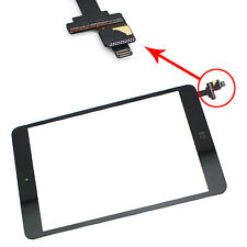 Touch Screen Digitizer With IC Connector Home Flex Assembly For Ipad Mini Black