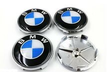 BMW 68mm Alloy Wheel Centre Caps Fits E60  5 Series Vehicles
