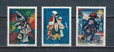 Italy #1070 - 72 MNH,Masked Dancers, 1974