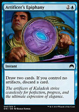 MTG 4x ARTIFICER's EPIPHANY - RIVELAZIONE DELL'ARTEFICE - ORI - MAGIC