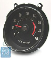 1969-72 Pontiac GTO / LeMans In Dash Tach - 5500 RPM - OEM Factory