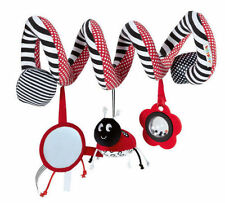 Cute Ladybug Infant Baby Kids Activity Spiral Bed & Stroller Toy
