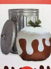 Christmas Pudding Bin Bags X 2~Gift Bag~Novelty Gift