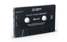 Ion Audio Cassette Bluetooth Adapter Music Receiver for Cassette Deck (Blac