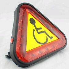 Mobility Scooter Light, Caution Triangle LED Light #NEW#
