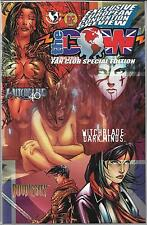 THE COW 2000 FAN CLUB SPECIAL EDITION (NM) WITCHBLADE #40, EUROPEAN CONVENTION