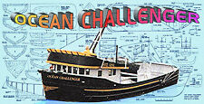 Build model Californian fishing vessel Boat full size Printed PLAN & Build Notes