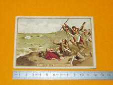 CHROMO 1890-1910 BON-POINT BATAILLE DE QUIBERON 16 JUILLET 1795