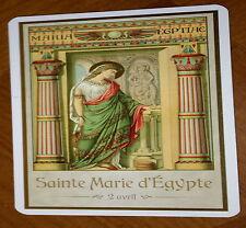 SAINTE MARIE D'EGYPTE 2 AVRIL_ IMAGE PIEUSE avec prière (card 7x12 cm)