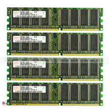 New Hynix 4GB (4x 1GB) PC3200 DDR-400Mhz Non-ECC Unbuffered Desktop Memory RAM