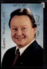 Helmut Binter foto original firmado # bc 39351