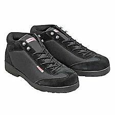 Simpson Safety Driver Equipment Shoes 56950BK Black Lightweight Pit Crew Shoe