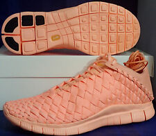 Nike Free Inneva Woven Tech SP Sunset Glow Kumquat Footscape SZ 11 (705797-888)