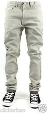 KAYDEN.K Men's Selvedge Tape Roll Up TAPERED FIT Raw Denim Jeans Size 30 - 44