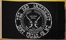 2nd Amendment Flag 3' x 5' Gun Owners Rights Indoor Outdoor Deluxe Banner