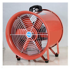 "Portable Industrial Ventilator Axial Blower Workshop Extractor Fan 16"" 400mm"