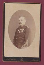 CABINET FROBERT LILLE - 150713 - Militaire des colonies ??? 1 au col médailles