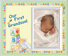 Our First Grandson - Picture Frame Gift    185