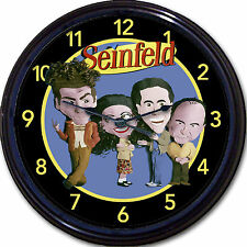 Jerry Seinfeld Wall Clock Television Comedy Series Jerry Elaine Kramer George