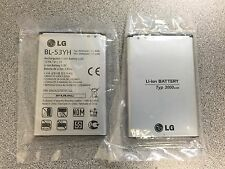 Genuine 3000 mAh BL-53YH 3000 mAh Battery Optimus G3 D850 D851 D855 LG. Lot of 2