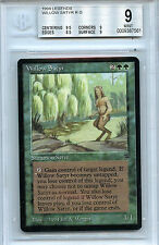 MTG Legends Willow Satyr BGS 9.0 (9) Mint card Magic the Gathering WOTC 7561