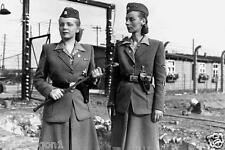 WW II - Photo --  German  Female Prison Guards --