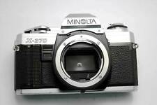 Minolta X-370 Manual 35mm Film Camera Body Students Best Choice