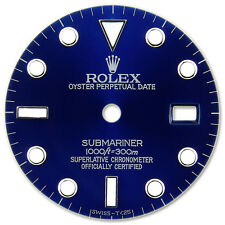Rolex Submariner Stainless Steel Blue Color Dial with Luminous Markers