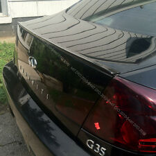 PAINTED 03-06 G35 G45 BOOT TRUNK LIP SPOILER PUF §