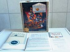 PC DOS:  Walls of Rome  - Mindcraft 1993