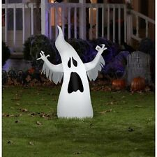 Halloween Lighted Ghost Yard Decoration 3' Airblown Air Blown - Kid Friendly