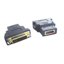 DVI-I Dual Link (24+5pin) Female to HDMI Female Adapter Converter Connector