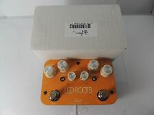 J ROCKETT AUDIO LED BOOTS PHIL BROWN SIGNATURE OVERDRIVE BOOST EFFECTS PEDAL