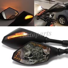 LED TURN SIGNAL SIDE MIRRORS For HONDA CBR600RR 2003-2011 CBR 1000 RR 2004-2007