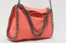 STELLA MCCARTNEY FALABELLA MINI BABY BELLA SHAGGY DEER FOLD-OVER TOTE BAG $1055