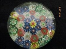 Vintage China Chinese Millefiori Glass Paperweight - 1930's