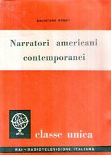 N86 Narratori americani contemporanei Rosati ED. Radio Italiana 1959