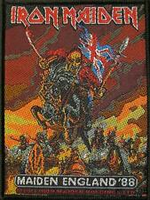 "IRON MAIDEN PATCH / AUFNÄHER # 53 ""MAIDEN ENGLAND '88"""
