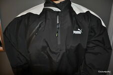 PUMA Men's OD Sailing Spray Top Jacket- Size M. & Large..Black. - MSRP $260.00