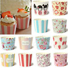 50X Paper Cake Cup Cupcake Cases Liners Muffin Dessert Baking Wedding Party