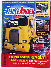 France Routes de 04/1997; Essai Kenworth K 100 E/ Aventure en Birmanie/ Barrages