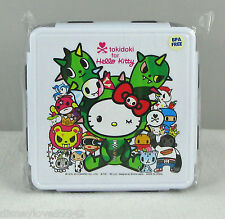 TOKIDOKI Hello Kitty Sandy Bento Box Kit Reunion Lunch Container w fork spoon