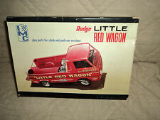 Vintage IMC Dodge Little Red Wagon Model Kit #107-200-Has Been Started