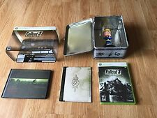 Fallout 3 4 Xbox 360 Collectors Edition With Bobble Head Artwork DVD & Game.