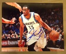 Thaddues Young 8x10 Autograph COA Minnesota Timberwolves Nets 76ers Georgia Tech