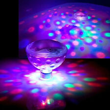 glow led floating lights underwater disco aqua swim show pond pool, Reel Combo